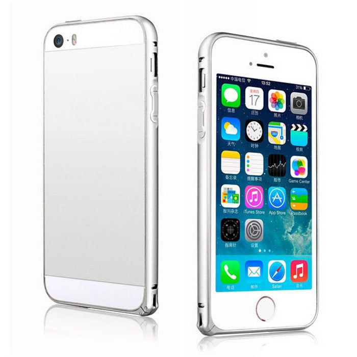 Luxury Slim Aluminium Alloy Bumper Frame For Apple iphone 5 5S Case Cover for iPhone 5 5S