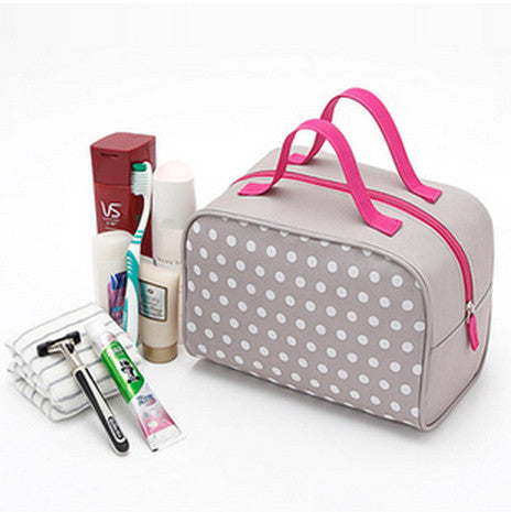 New Arrival Women Print Travel Products Waterproof Wash Cosmetic Makeup Storage Box Bag Case Purse Christmas Gift