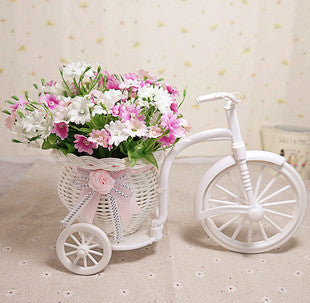 Rattan vase + flowers meters orchid artificial flower set home decoration