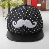 Boys Girls Snapback Caps New Fashion Kids Adjustable Hats Hip-Hop Baseball Children Cap Beard bone casquette gorras planas