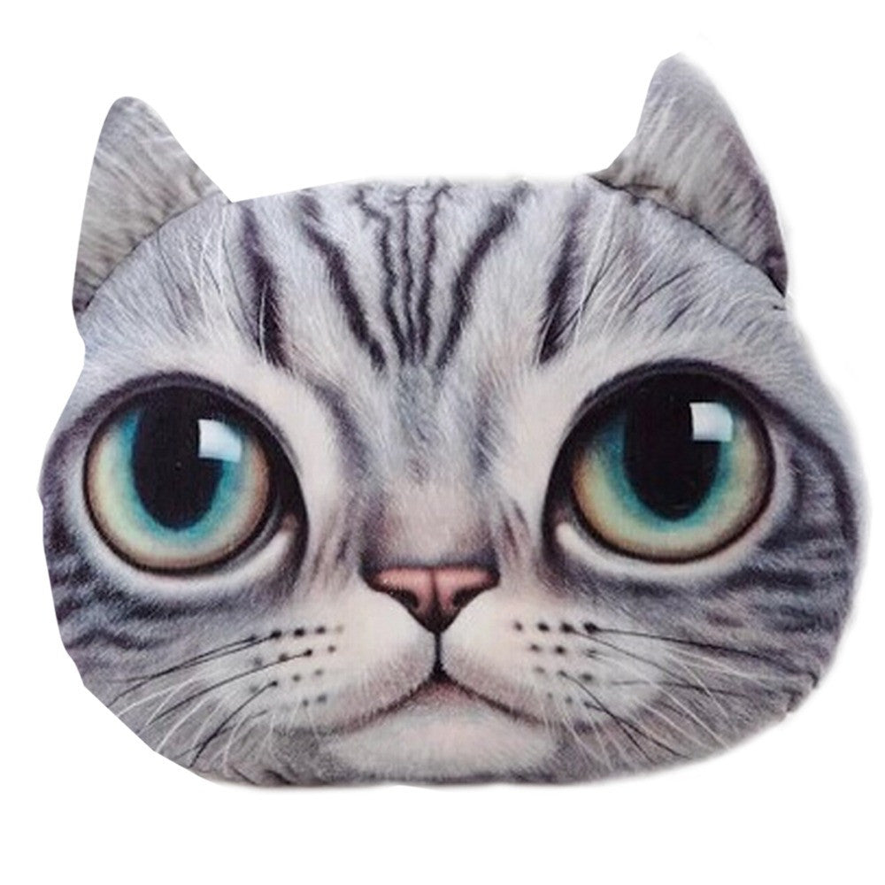 Cartoon Chair Sofa Pillow Personality Car Cushion Creative Handsome Cat Shape Nap Pillow Cute Seat Cushion 1PCS/Lot