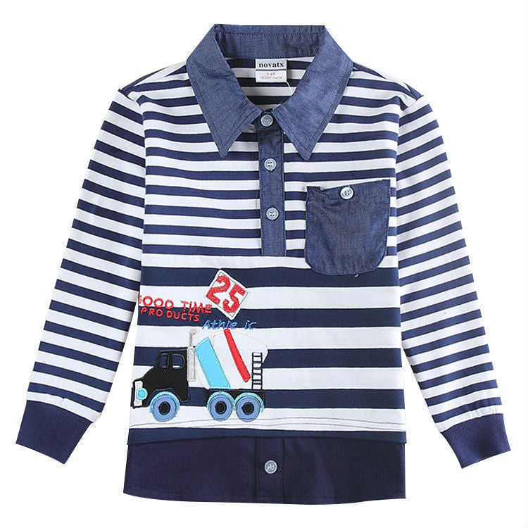 Children Boys Clothes Nova Brand Children Boy's T Shirt Embroidery Boys Casual Baby Clothing T shirt For Boy