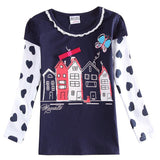 Children Girl t shirt Baby Girl Clothing Fashion Nova Print T Shirt for Girls Spring Autumn Long Sleeve Casual T Shirt For Girl