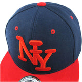 Children NY Letter Baseball Cap Cayler Sons Bones Snapback Hip Hop Fashion Flat Hat for Kid Boys And Girls Casquette