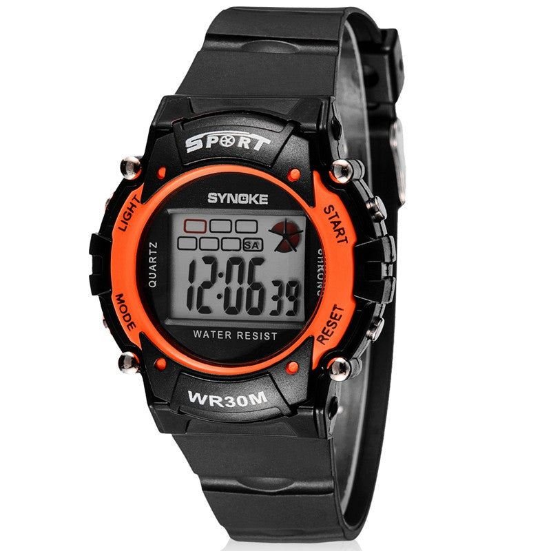 Children's Watches Sport Digital Watch Fashion High Quality Outdoor Waterproof Multi-functional Watch Clock