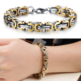Classic Design Punk 316L Stainless Steel Bracelet Special Biker Bicycle Motorcycle Chain For Mens Bracelets & Bangles