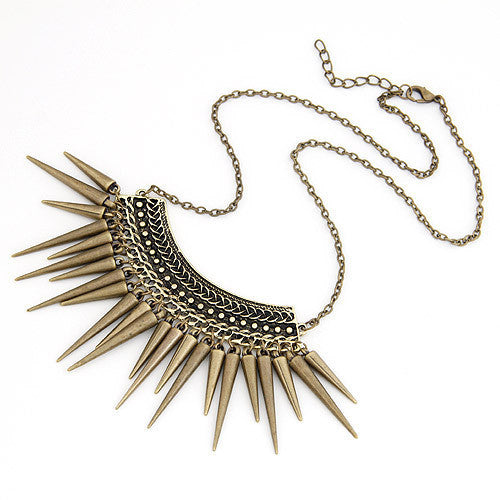 Colar Vintage Feminino Maxi Statement Necklaces & Pendants Collier Femme Jewelry Collar Fashion for Women Boho Accessories