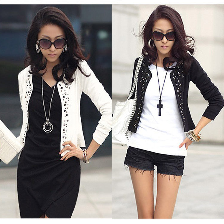 Cozy women clothes Shawl Coat Comfortable leisure slim Wild suit lady jacket