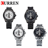 Curren watches men military watch men full steel wristwatches fashion casual water Resistant army sports quartz Clock