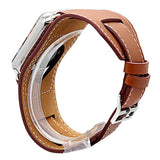 Extra Long Genuine Leather Strap For Apple Watch Band Genuine Leather watchBand Cuff Bracelet Leather Band strap For Apple Watch