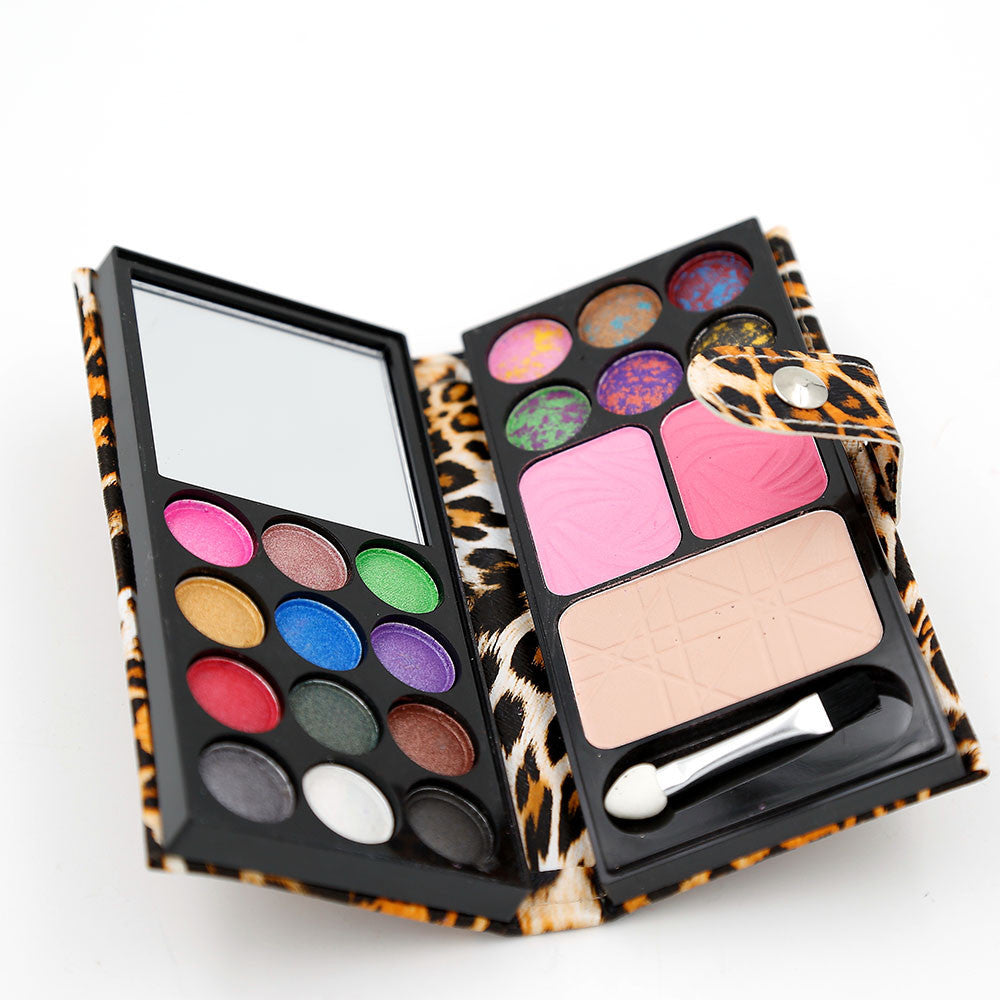 Eyeshadow Palette Professional Eyes Charms 1 Set Eyeshadow+ Blush+ Foundation Makeup Palette Make Up Kit