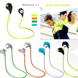 Fashion Sport Wireless Bluetooth 4.1 Earphones Mini Best Stereo Running Headset MP3 Music Headphones For Smart Phone