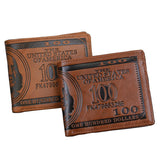 Fashion New Sale Men's Wallets Dollar Price Pattern Designer Casual Credit Card Holder Purse Wallet For Men