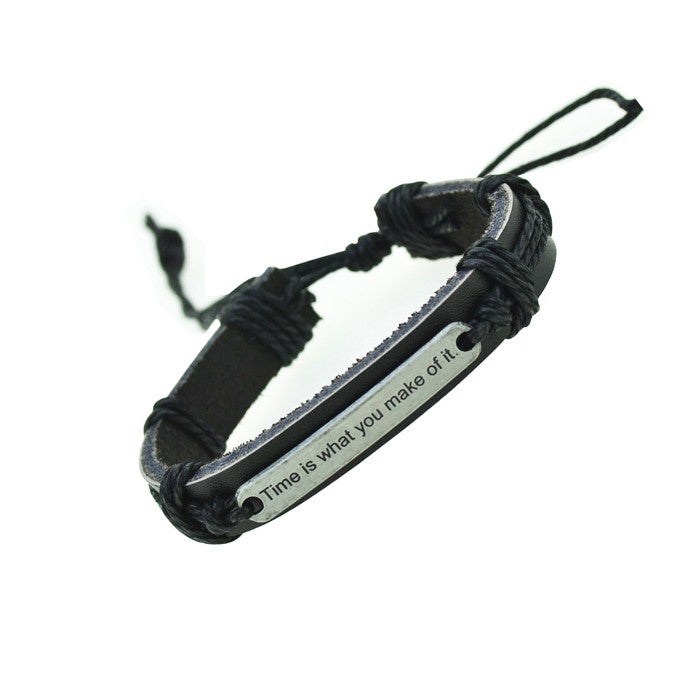 Genuine Leather Bracelets Charm Bracelet Men Bracelets for Women Wristband Bracelet Jewelry