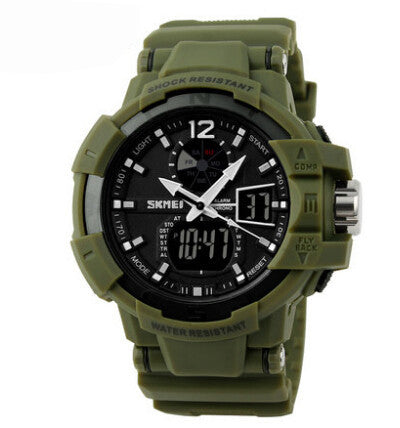 Fashion Outdoor Men Boy Sports Watches SKMEI Brand LED Digital Quartz Multifunction Waterproof Military Watch Dress Wristwatches