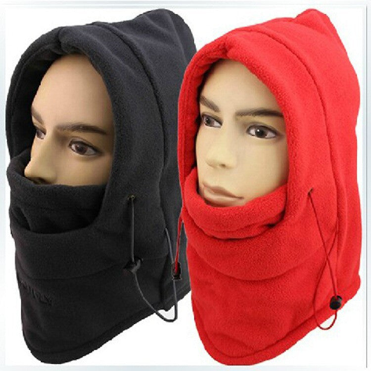 HOT winter hat for men warm fleece hat women protected face mask ski gorros hat CS outdoor riding sport snowboard cap