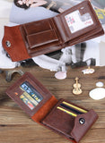 High Quality !Men Business Wallets Coin Slim Bifold Credit Card Clutch Holder Wallets Purses