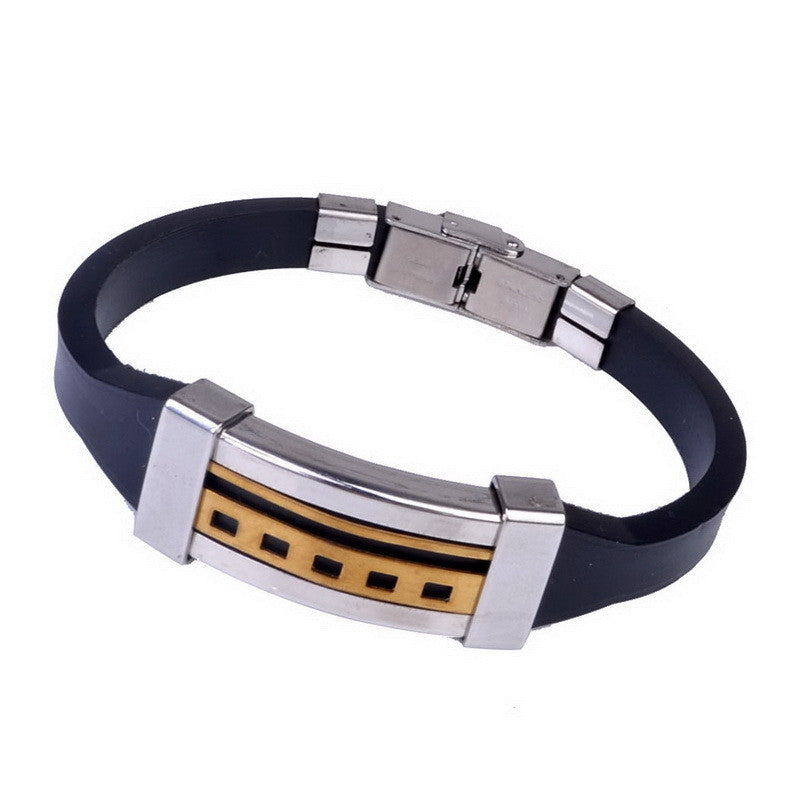 High Quality Sporty Men Bracelets Statement Leather Charm Bracelets Men Women Pulseras Jewelry Bracelet & Bangle
