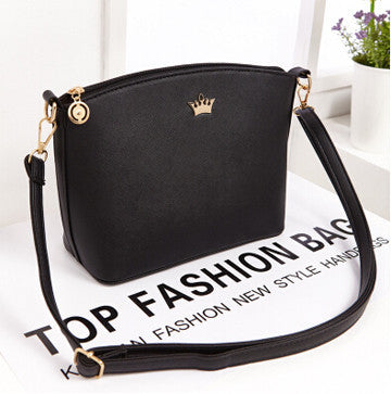 Hit Your Heart New Fashion Shell Women Messenger Bags Cross Pattern Women Bags PU Leather Mini Women Shoulder Bag Female