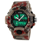 G Style Quartz Digital Camo Watch Men Dual Time Man Sports Watches Men Luxury Skmei S Shock Military Army