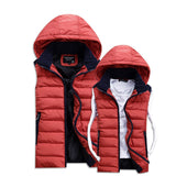 Hot Sale Stars Loves Brand New Arrival Slim Man Vest Autumn Winters Hooded Cotton Padded Men's Vests