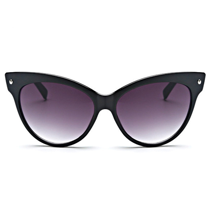 Hot Sell New Designer Women Glasses Inspired Sun Glasses Cateye Women Oversize Cat Eye Celebrity Sunglasses