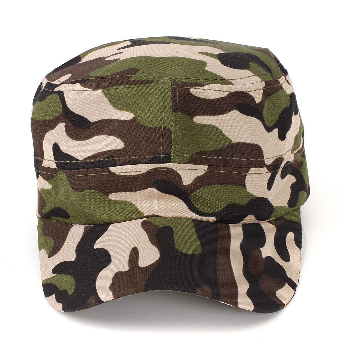 95b6a338a08 Hot Sale Baseball Unisex Fashionable Men Women Sun Visor Army Camouflage  Military Soldier Combat Hat Cotton Sport Cap