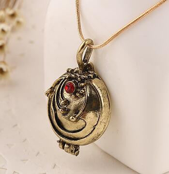 Hot Sale New fashion jewelry Vampire Diary Elena Vervain Box choker  necklace for lovers' Pendant Necklaces