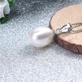 Hot Selling 925 sterling silver jewelry sets 100% real natural freshwater pearl jewelry for women