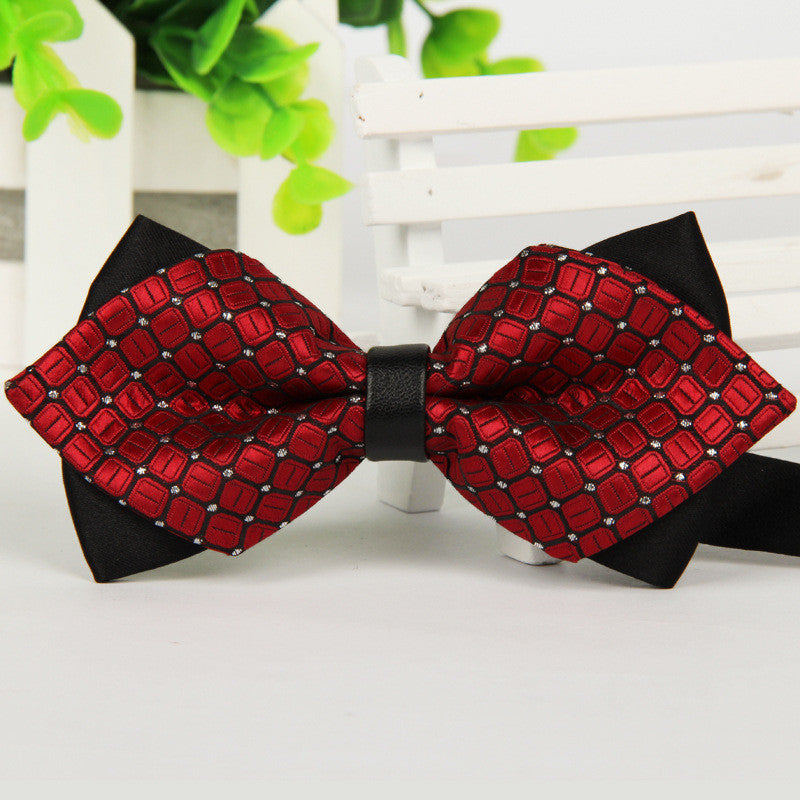 Hot Selling Bow Ties Formal Commercial Bow Tie Fashion Men's Bowties for Boys Accessories Butterfly Cravat Bowtie Butterflies