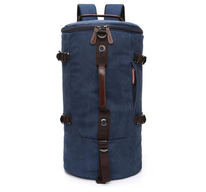 a0a2bd11b8 Large capacity man travel bag outdoor mountaineering backpack men bags  hiking camping canvas bucket shoulder bag