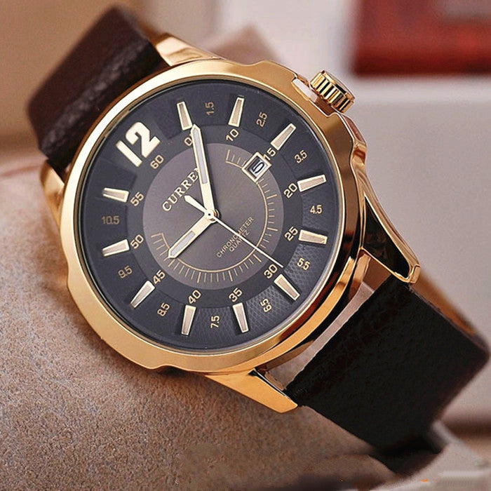 Luxury Brand CURREN 8123 Men military watch Fashion Men wristwatches Quartz men sports watches Casual leather Men Watch