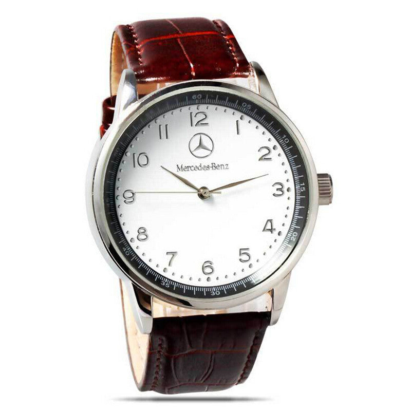 Luxury Brand benz Leather men Watches Waterproof Fashion Casual Sports Quartz Watch Business Wrist Watch Hour Relogio Masculino