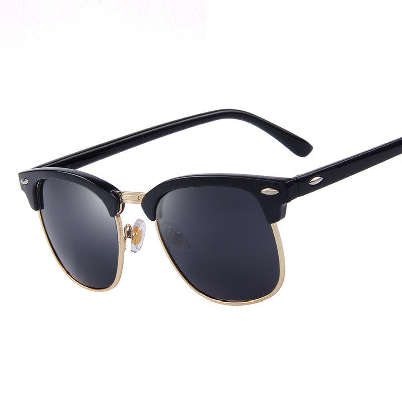 Men Retro Rivet Polarized Sunglasses Classic Brand Designer Unisex Sunglasses UV400