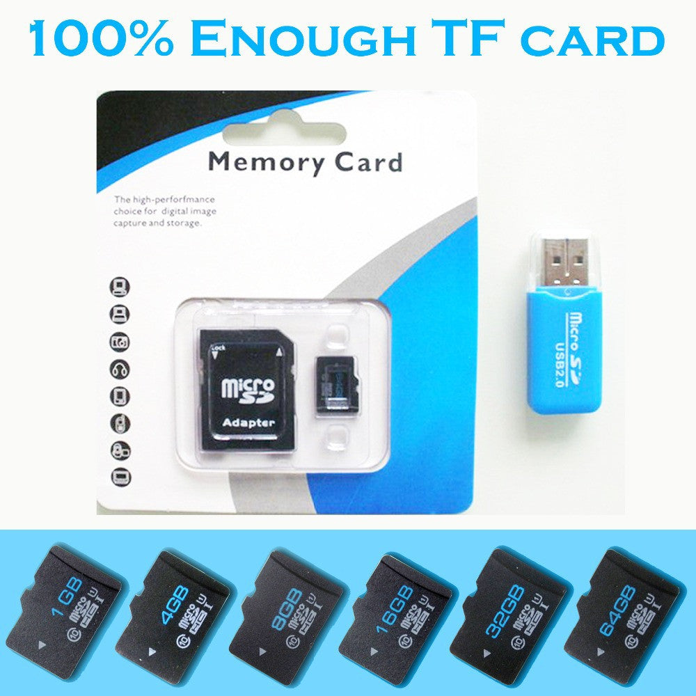 Memory cards Micro SD Card 32GB Class 10 Memory cards 64GB 16GB 8GB 4GB 128GB Microsd TF card Pen drive Flash + Adapter + Reader