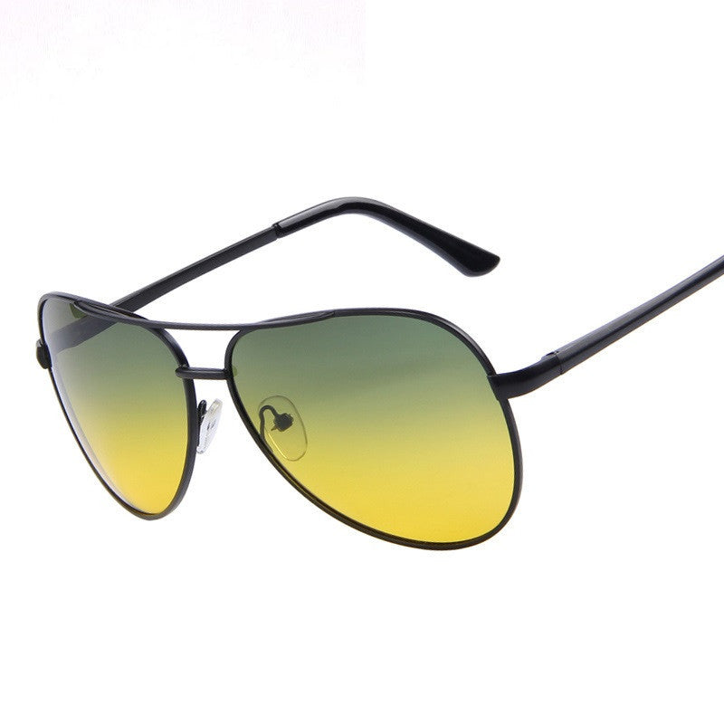 Men Polarized Sunglasses Night Vision Driving Sunglasses 100% Polarized Sunglasses