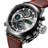 Men Top Brand Luxury quartz Watches,electronic digital display Military watch Men sports watches 30ATM wristwatch