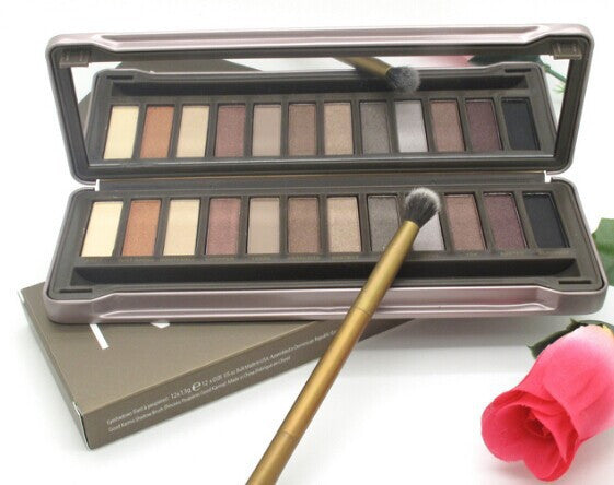 NEW NAKE basics palette makeup kit set nake 3 eyeshadow with brush NK1 NK2 NK3 eye shadow 12 COLOR Nake1 2 3 makeup set