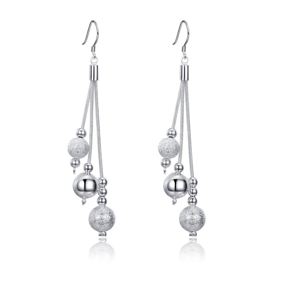 New Arrival ! silver plated earrings,silver-plated jewelry Fashion Jewelry