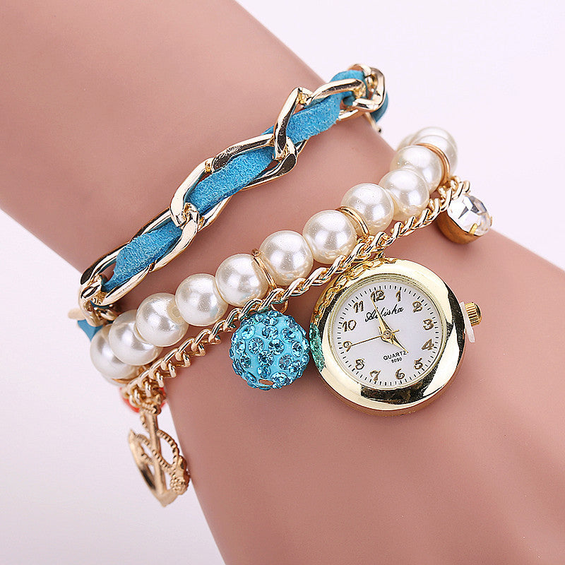 New Arrive Fashion Casual Anchor Bracelet Wristwatch Women Watch Relogios Feminino Ladies Watch