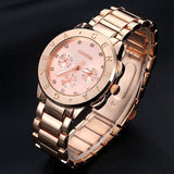 New Arrive Gold Geneva Brand Steel Alloy Women Men Wristwatch Bracelet Fashion Casual Sport Luxury Dress Business Watch