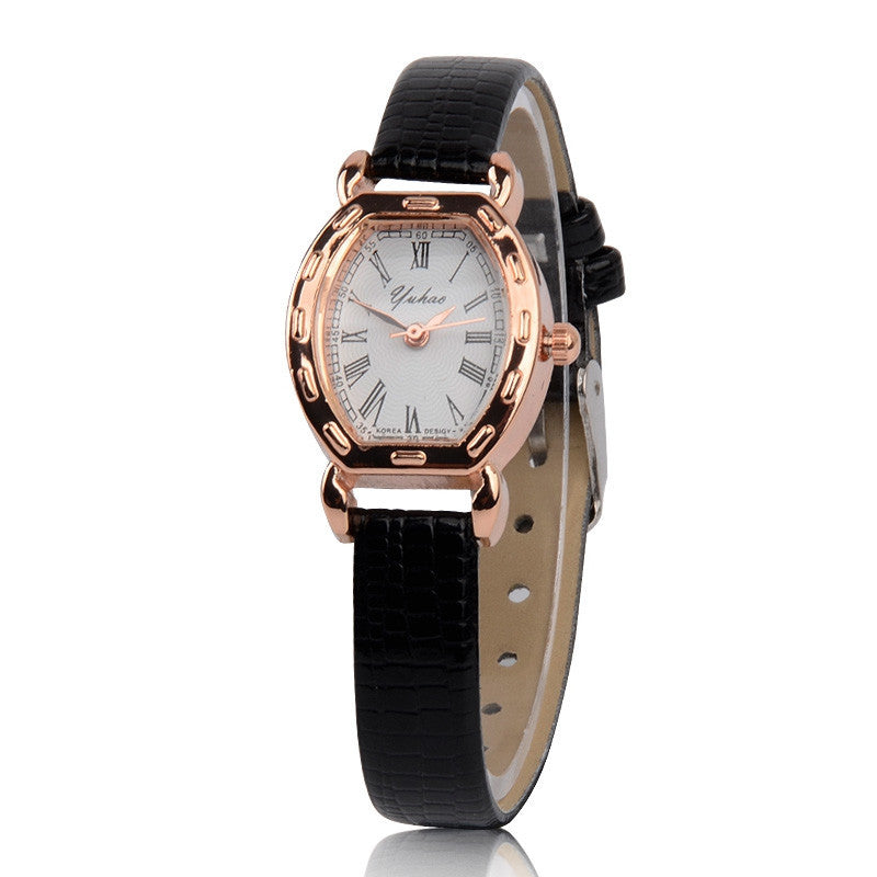 New Arrive Quartz Women Leather Strap Watch , Dress Women Watches Rhinestone Wristwatches ladies watch