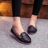 New Arrival Spring and Autumn Flats for Women Flat heel Shoes Fashion Leopard Flats Women Shoes