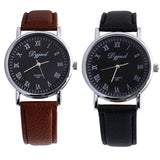 New Business Casual Dress Watches Men PU Leather Quartz Military Watch Luxury Brand WristWatch relojes hombre Clock