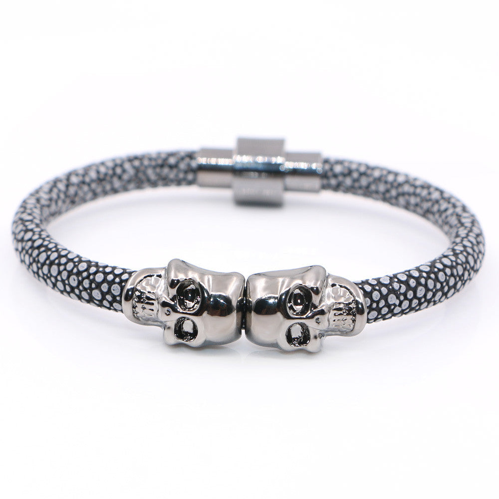 beads lava women com skull store bracelet aliexpress natural stone northskull stainless buy product tiger and men for eye fashion from steel north