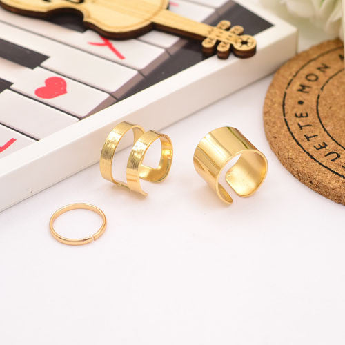 New Fashion jewelry finger ring set for women girl lovers' gift 1set=3pcs