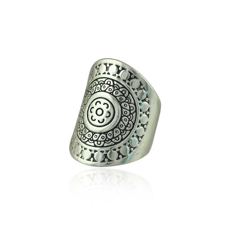 New Tribal Tibetan Silver Plated Vintage Ring
