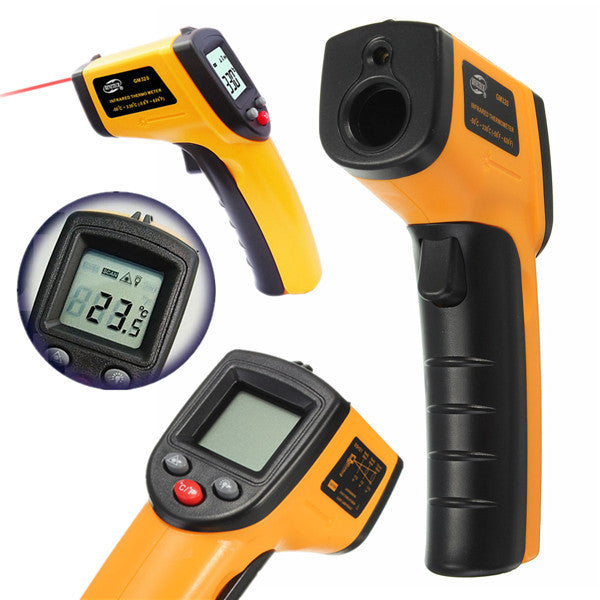 Non-Contact IR Infrared Thermometer LCD Display Digital Temperature Gun Temp Thermometer Laser Handheld