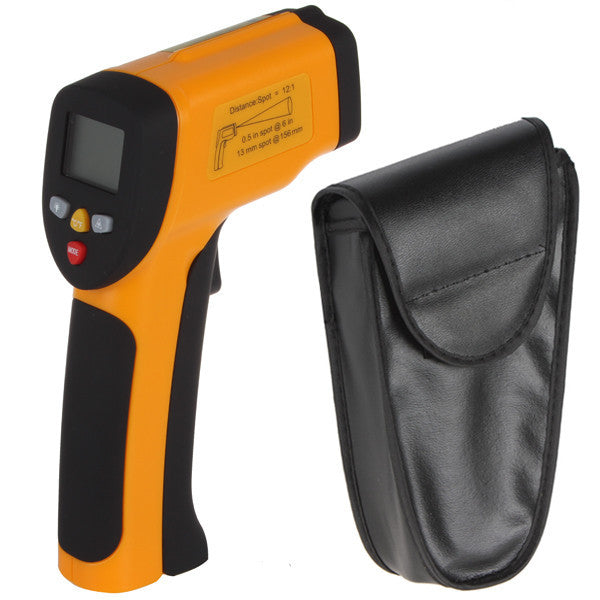 Non contact LCD Laser Gun Infrared Digital Electronic Industrial Thermometer Temperature Meter Gauge