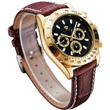 OUYAWEI Top Brand Luxury Watch Men 10 Water Resistant wristwatches,automatic-self-wind movement military weide watch